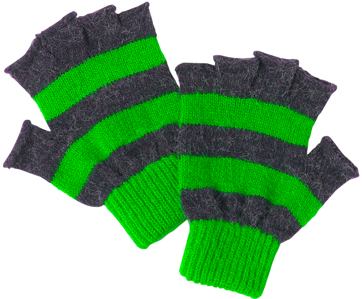 green gloves large Gloves