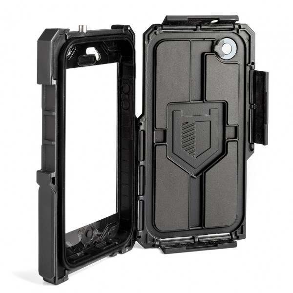 hitcase pro5 open c 600x600 Hitcase   Waterproof Case for the iPhone   Product Feature
